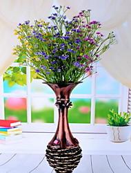 1 Ast Kunststoff Schleierkraut Tisch-Blumen Künstliche Blumen 25*25*48