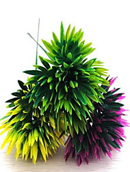 1 Branch Plastic Others Tabletop Flower Artificial Flowers Pineapple Flowers