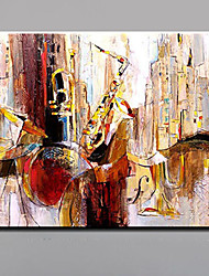 Hand-Painted Party Show Abstract Landscape HorizontalModern European Style One Panel Oil Painting For Home Decoration