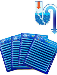 12 Pcs  Sani Cleaing Sticks Keep Your Drains Pipes Clear And Odor Free