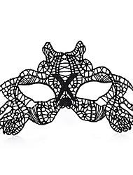 mulheres sexy de renda preta masquerade halloween máscara de Halloween acessórios prop cosplay