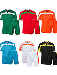 Men's Soccer Clothing Sets/Suits Comfortable Spring Summer Fall/Autumn Winter Patchwork Polyester Football/SoccerWhite Green Red Black