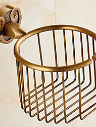 Horn Style Solid Brass Bathroom Shelf Bathroom Toilet Paper Holder Bathroom Accessories