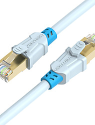 VENTION® High Speed CAT6 RJ45 Ethernet Network Cable Gold-plated Computer LAN Internet Cable 15m