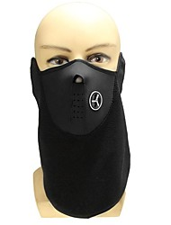 Biker Motorcycle Ski Snowboard Neck Face Mask Facemask  BLACK