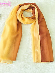 Chiffon Scarf Color Block Large Thin Bohemia Shawl Women's Beac UV Scarves Long Rectangle  Lady's Valentine Christmas Gift