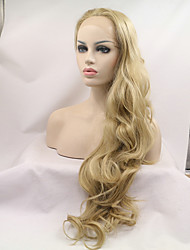 Sylvia Synthetic Lace Front Wig Strawberry Blonde Straight Heat Resistant  Synthetic Wigs