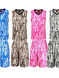 Men's Soccer Clothing Sets/Suits Breathable Comfortable Spring Summer Fall/Autumn Winter Camouflage Polyester Basketball Football/Soccer