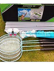 Portable doubles badminton net frame combination beach badminton net frame