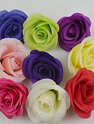 1 Ramo Plástico Rosas Flor de Mesa Flores artificiais 8*8*5