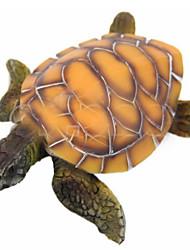 decoración del acuario tortugas marinas resina ornamento