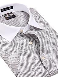 U&Shark Casual&Fashion Men's  Short Sleeve   White Collar Shirt  /DXBL22