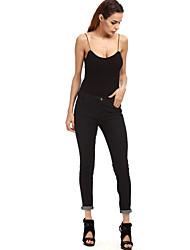подписать джинсы Aliexpress Амазонка Ebay европы внешней торговли крупных женщин размер карандаш брюки ноги брюки