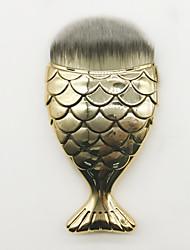 1 Concealer-børste Foundationbørste Syntetisk hår Reise Bærbar Plast Ansikt Andre