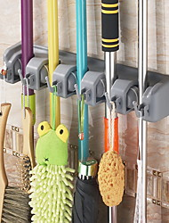 The Broom Mop Rack Rack Multifunctional Rack Hook