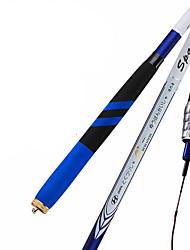 Fishing Rod Telespin Rod Carbon steel 540 M General Fishing Rod Blue