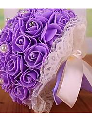 Fleurs de mariage Rond Roses Bouquets Mariage La Fête / soirée Mousse Env.23cm