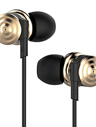 écouteurs audio uiisii hi905 écouteurs meilleurs dual driver écouteurs intra-auriculaires professionnelle lourde bobine basse induit
