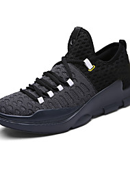 Men's Basketball Shoes Customized Microfiber Breathable Profession Athletic Shoes Black