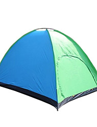 5-8 personnes Tente Unique Tentes Familiales Une pièce Tente de camping 1000-1500 mm Polyester Etanche Respirabilité Résistant au vent-
