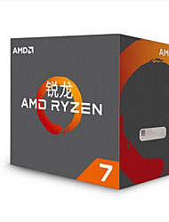 ryzen 7 1800 x 3.6 GHz processore scatola di interfaccia 20 MB 8 AM4 tagliente drago AMD
