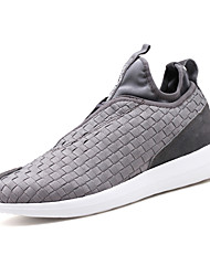 Men's Sneakers Spring Summer Fall Comfort Light Soles Fabric Outdoor Casual Flat Heel Running Shoes