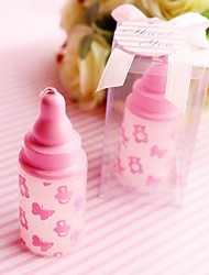 4box/Lot Pink Bottle Candle Favour Beter Gifts® Baby Shower Favor 4 x 4 x 7.5cm/box