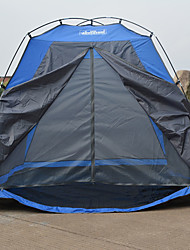 True Adventure 2 persons Tent Single Fold Tent One Room Camping Tent 1000-1500 mm Fiberglass Waterproof Rain-Proof Foldable-Hiking