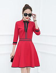 подписать весной 2017 моделей женщин&# 39; S? нога тонкие дамы темперамент моды нижнего платья к югу европы красный прилив товаров