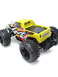 FS - 53810 FS-53810 Racing 1  10 2.4GH 4WD RC Electrical Truck Upgraded Version US Plug - US PLUG  YELLOW