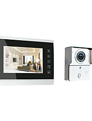 ACTOP 7inch Capacitive Touch Sceen Video Door Phone for Villa