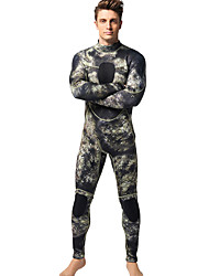 MYLEDI Men's 3mm Wetsuits Full Wetsuit Waterproof Thermal / Warm Wearable YKK Zipper Neoprene Diving Suit Diving Suits-Swimming Diving