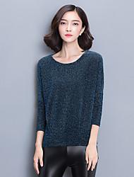 Миз. весной 2017 года новый высокого класса нижнего рубашка с длинным рукавом блузки среднего возраста
