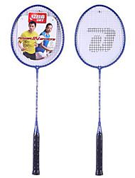 Raquettes de Badminton Haute élasticité Durable Fibre Une Paire pour Extérieur Utilisation Sport de détente-DHS