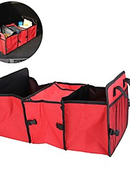 Car Trunk Storage Bag Oxford Cloth Folding Storage Box Tidy Bag Organizer Storage Box with Cooler Bag Interior Accessories