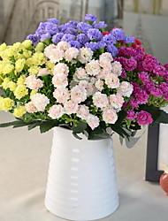 1 Ast Kunststoff Künstliche Blumen 27