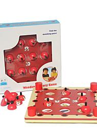 Настольная игра Хобби и досуг Игрушки Оригинальные Цилиндрическая Дерево Для мальчиков Для девочек