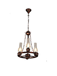 Pendant Light ,  Rustic/Lodge Globe Vintage Retro Country Painting Feature for Mini Style Designers Metal Living Room Bedroom Dining Room