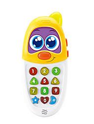 Téléphones Jouets Nouveautés & Farces Carré Plastique Jaune