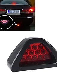 Car Auto Vehicle 12 Red LED Bright Flash Brake Light Lamp Bulb