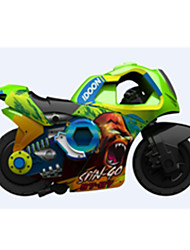 Motorcycle Vehicle Playsets 1:72 ABS Plastic Rainbow