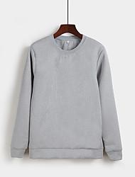 Springflut nagelneuen koreanischen Sicherungsrundhals Pullover junge männliche Version von Frühling lose Mantel Normallackhemd XL