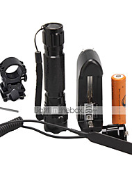 U'King ZQ-X939PU#-EU 3W Cree XPE 1500LM Flashlight Torch Kit with Remote Pressure Switch and Battery
