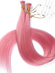 #pink i pourboire extensions de cheveux de cheveux humains européen i pourboire extensions 100strand / lot meilleure qualité i pourboire