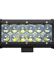 1шт 7inch 60w вел свет работы бар 5d пятно луча сув внедорожные вождения противотуманные фары водить лодки лампы свет автомобиль