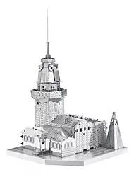 3D пазлы Металлические пазлы Для получения подарка Конструкторы Модели и конструкторы Знаменитое здание Архитектура Металл от 14 лет