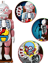 Gags & Practical Jokes Novelty Skull Cool Punk Fashion Novelty & Gag Toys Gray ABS Plastic