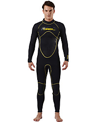 SLINX® Men's 3mm Wetsuits Dive Skins Waterproof Breathable Thermal / Warm Quick Dry Windproof Tactel Coolmax Memory Foam Diving Suit