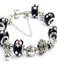 Bracelet Chain Bracelet Crystal Alloy Others Natural Party Birthday Gift Jewelry Gift White,1pc