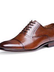 Westland's Men's Oxfords/Fashion/Cow Leather/Business Style/Office Dress/Popular/Casual/Black/Brown